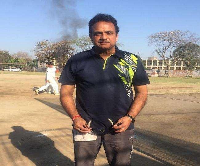 पूर्व क्रिकेटर यशपाल शर्मा की फाइल फाेटाे।