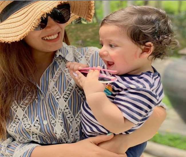 Mira Rajput Kapoor shared picture of son Zain.