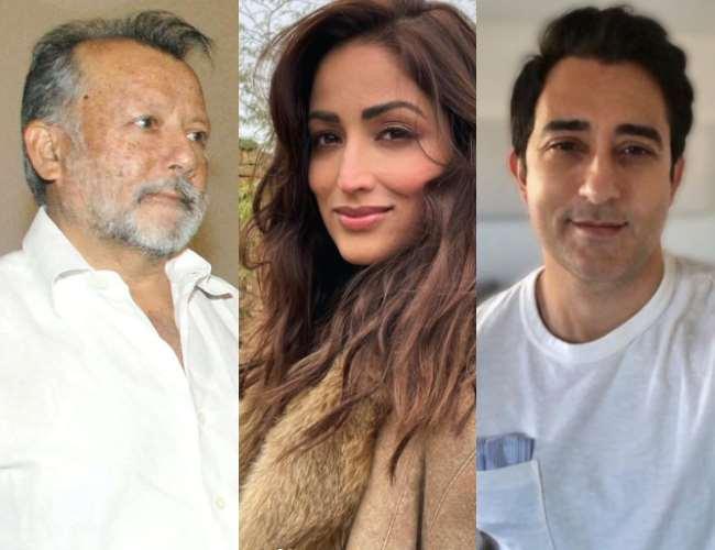 Pankaj Kapur, Yami Gautam, Rahul Khanna. Photo- Instagram