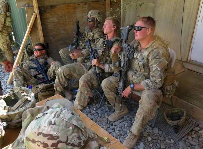 अमेरिकी राजनयिकों को तालिबान का कोई खौफ नहीं। फाइल फोटो।
