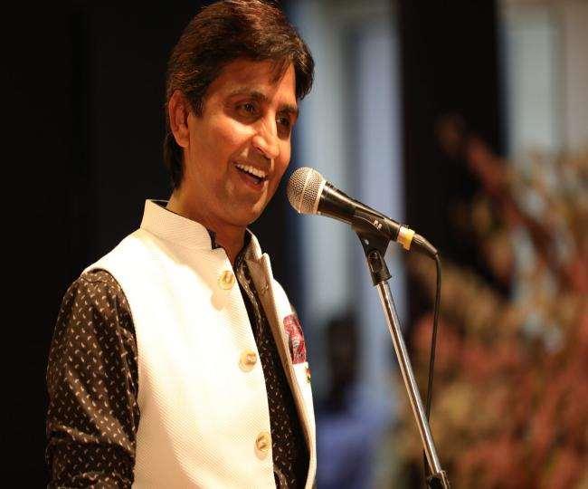कुमार विश्वास की प्रसिद्ध कविता को बच्चियां भी गुनगुनाती हैं।