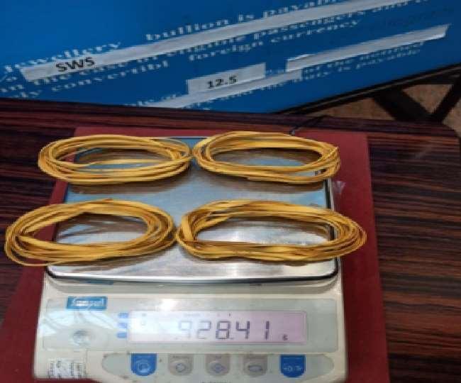 दुबई से मोजे के अंदर सोना छिपा कर ला रहे थे यात्री, कोझिकोड एयर इंटेलिजेंस यूनिट ने किया जब्त