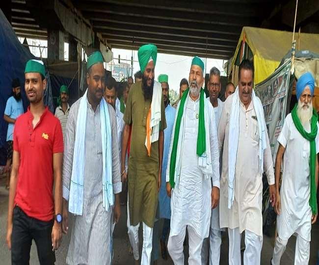 Bharat Bandh 27 September 2021: यूपी बार्डर पर फिर बढ़ सकती है किसान प्रदर्शनकारियों की संख्या