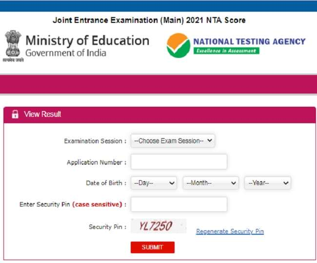 JEE Main 2021 Session 4 Result DECLARED, know how to download scorecard and check the results at jeemain.nta.nic.in