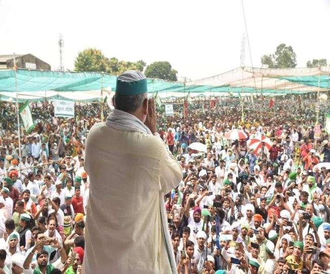 किसान नेता राकेश टिकैत ने एक बार फिर देश के युवाओं का आवाहन किया है।