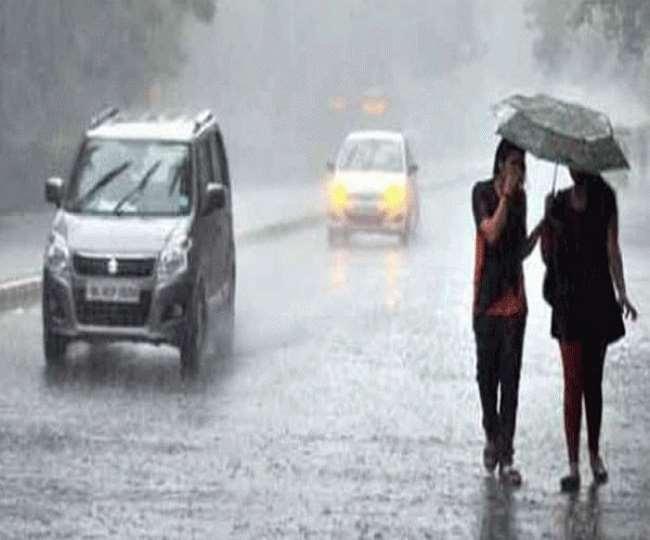 ओडिशा और छत्तीसगढ़ में भारी बारिश की संभावना।(फोटो: दैनिक जागरण)