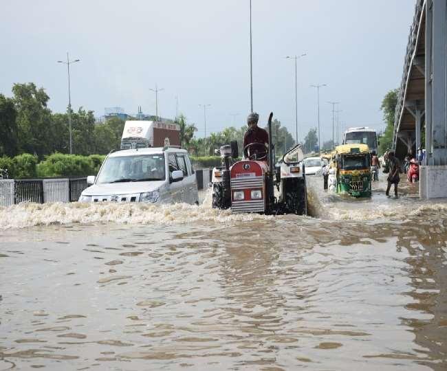 हरियाणा में अभी चार दिन मानसून की बारिश होगी।