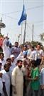 भगवान वाल्मीकि के प्रकाश पर्व पर शोभायात्रा निकाली