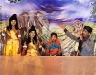 रामलीला कलाकारों ने किया जीवंत मंचन