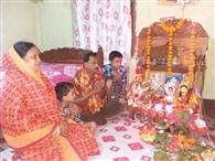 मां लक्खी पूजा से भक्तों को मिलती है सुख समृद्धि