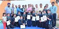 अंतर कॉलेज कबड्डी स्पर्धा पर बिलासपुर का कब्जा