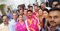 राजीव ठाकुर को नौवीं बार जिलाध्यक्ष की कमान