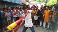 ढोल-नगाड़ों संग निकली भगवान वाल्मीकि की शोभायात्रा