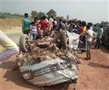 Accident on Ettah Kanpur highway: ओमनी कार और बस की भिड़ंत में तीन की मौत, सात घायल Agra News