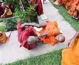 बिहार के महाबोधि मंदिर में हतप्रभ कर देनेवाली घटना, अहिंसा के पुजारी उतर आए हिंसा पर