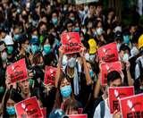 Hong Kong: चीनी प्रतिष्ठानों पर आंदोलनकारियों का निशाना, कई स्थानों पर पुलिस से टकराव