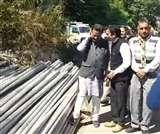 Himachal By Election: पाइपों के ट्रक भेजकर मतदाताओं को प्रलोभन देने के मामले की चुनाव आयोग से शिकायत