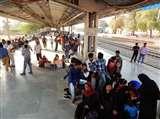अप-डाउन पंजाब मेल व जनता एक्सप्रेस दूसरे मार्ग से गुजरी, तीन ट्रेनों का रूट बदला, स्टेशन मास्टर से दर्ज कराई शिकायत