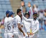 पुणे टेस्ट में बड़ी जीत दर्ज करने के बाद गरजे विराट कोहली, कहा- कोई रहम नहीं करेंगे क्लीन स्वीप