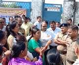कूड़ा निस्तारण केंद्र के विरोध में अनशन व धरना कर रहे लोगों को लिया हिरासत में
