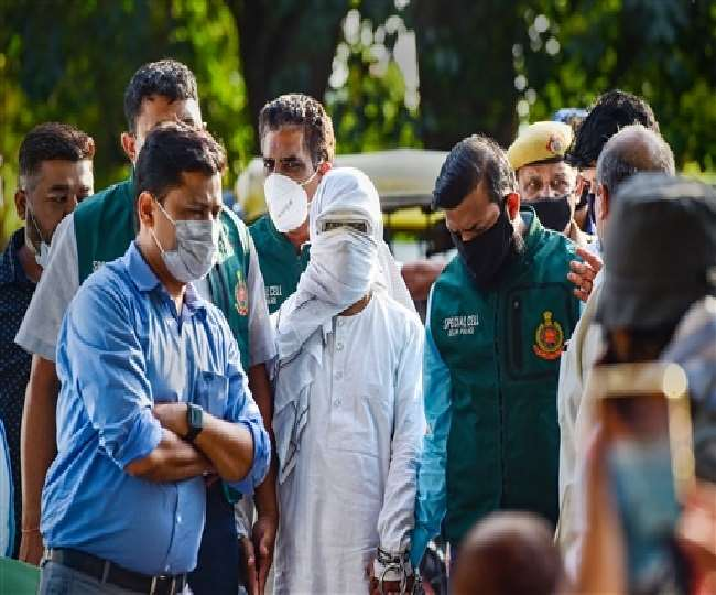 दिल्ली से गिरफ्तार किया गया पाकिस्तानी आतंकी मोहम्मद अशरफ।(फोटो: प्रेट्र)