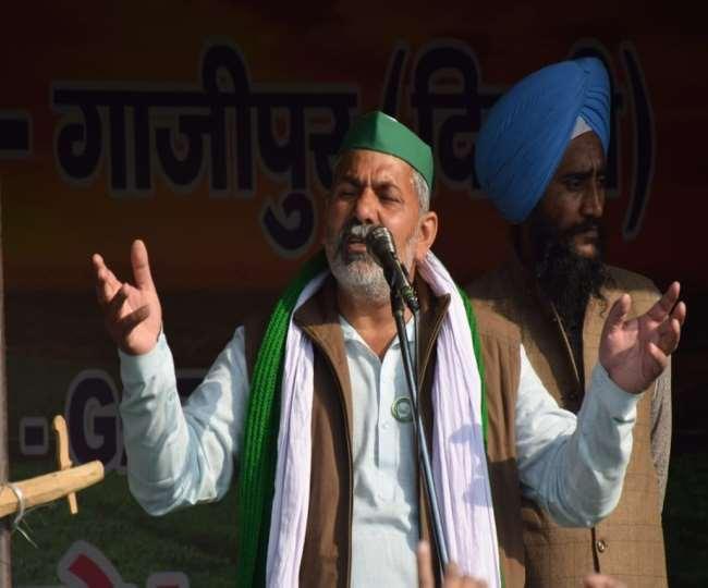 राकेश टिकैत ने कहा कि संघर्ष से समाधान तक जारी रहेगा आन्दोलन।