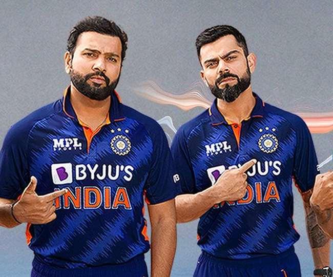टीम इंडिया की नई जर्सी लान्च हो गई है (फोटो बीसीसीआइ ट्विटर)