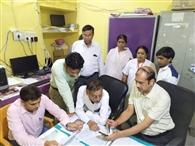 रामपुर पीएचसी के दंत चिकित्सक के वतन में तीन दिन की कटौती