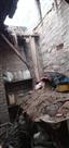 बारिश से गिरी महिला के घर की छत