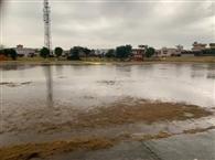 स्टेडियम में पानी भरा, नहीं हुए अनमोल क्रिकेट टूर्नामेंट के मैच