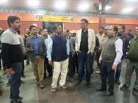 डीआरएम ने किया बरकाकाना स्टेशन का निरीक्षण