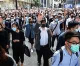 Hong Kong Protest : सरकार से टकराव के छह महीने के अनुभव किए साझा, उठी आवाज; अब रुकना नहीं