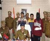 एकाउंटेंट को गोली मारकर लूटपाट करने वाला एक शातिर गिरफ्तार, तीन लुटेरे फरार Lucknow News
