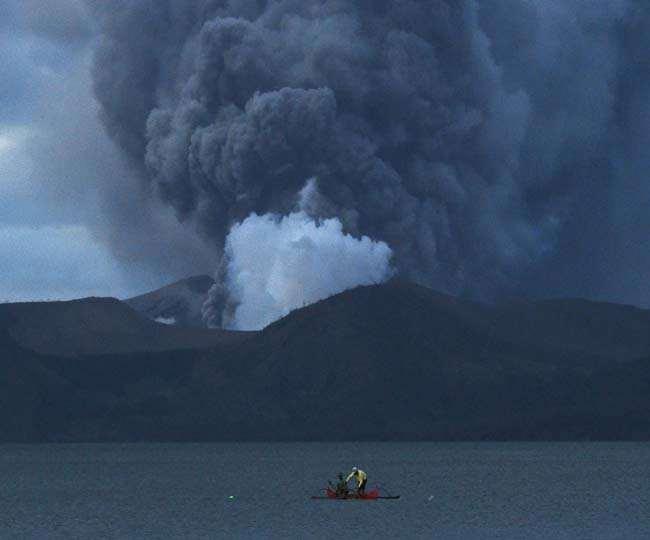 Philippines on alert over possible Taal volcano eruption