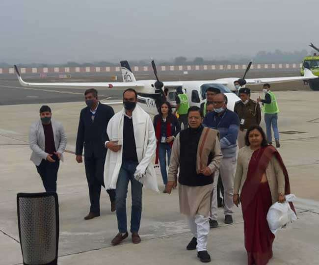 First Air Taxi of Country start from Chandigarh to Hisar
