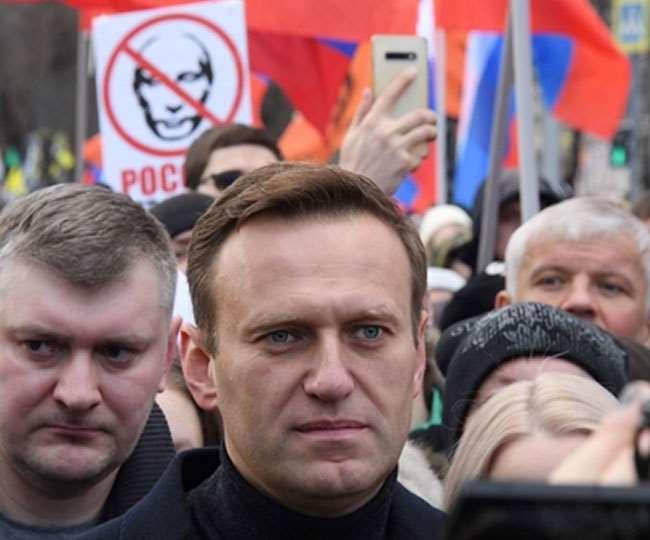 रूस में विपक्षी नेता एलेक्सी नवलनी की गिरफ्तारी पर यूरोपीय संघ और रूस में ठनी। फाइल फोटो।
