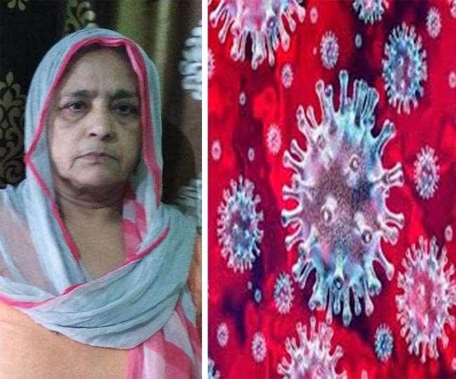 यमुनानगर की 60 वर्षीय लक्ष्मी ने कोरोना के दी मात।