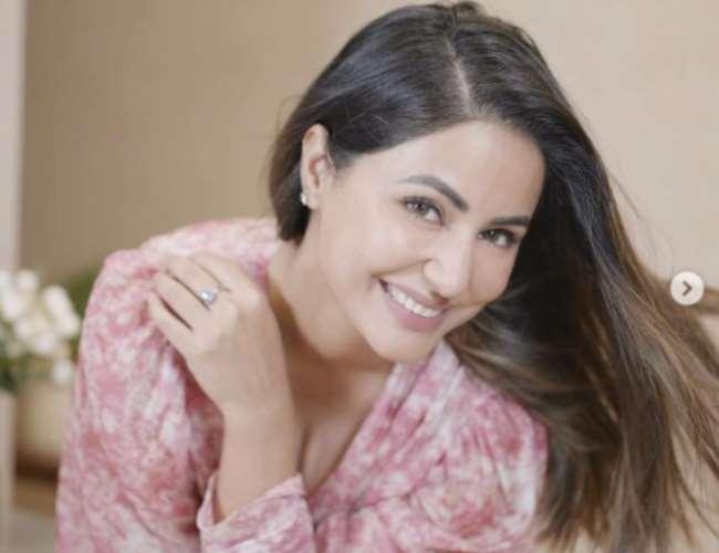 Hina Khan turns producer. Photo- Instagram/Hina Khan