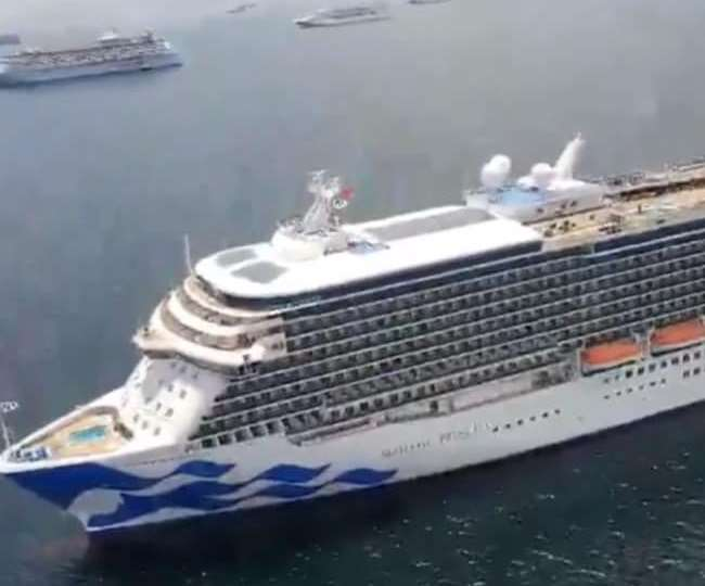 जहाज पर स्वास्थ्य प्रोटोकॉल के तहत यात्री को आइसोलेटेड किया गया