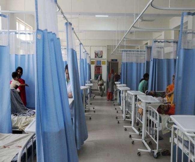 लोकनायक, हिंदूूराव, जीटीबी जैसे बड़े अस्पतालों की ओपीडी में आ रहे बुखार के सौ से ज्यादा मरीज।