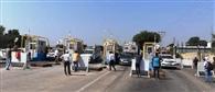 टोल प्लाजा के विरोध में मिनी बसों का चक्काजाम आज