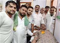 सुलहेड़ा में रक्तदान शिविर में 81 यूनिट रक्त एकत्रित