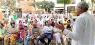 भाजपा के राज में बढ़ती महंगाई से जीना मुहाल : अशोक