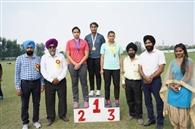 100 मीटर हर्डल्स में लुधियाना की गगनप्रीत और अरमान ने मारी बाजी