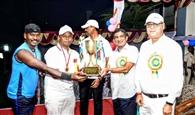 दक्षिण पूर्व आरपीएफ की टीम बनी हॉकी चैंपियन