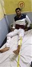 पैरोल से भागा राजस्थान का शातिर बदमाश मुठभेड़ में घायल