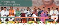 कृष्णपाल और विपुल ने मंच पर नहीं मिलाए हाथ