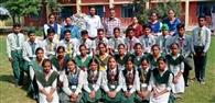 पंजाब स्तरीय थ्रो बॉल मुकाबलों में बाबा फरीद स्कूल के विद्यार्थियों ने हिस्सा