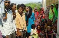 मजदूर का शव गोदाम गेट पर रख किया हंगामा