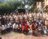 Delhi: होटल में चल रहे कसीनों का किया पर्दाफाश, 58 आरोपित गिरफ्तार